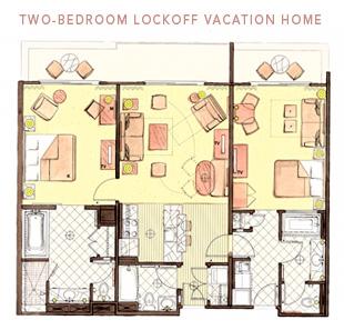2 bedroom floor plan jambo vs kidani the dis disney - 2 bedroom villa animal kingdom kidani ...