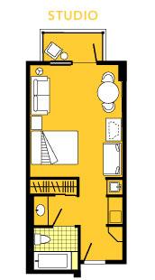boardwalk one bedroom vacation home sleeps 4 814 sq ft