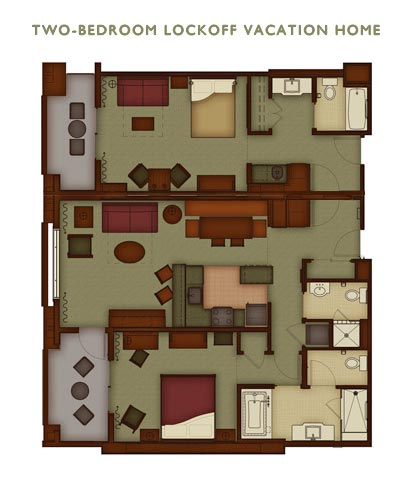 disney grand californian 3 bedroom suite neutral