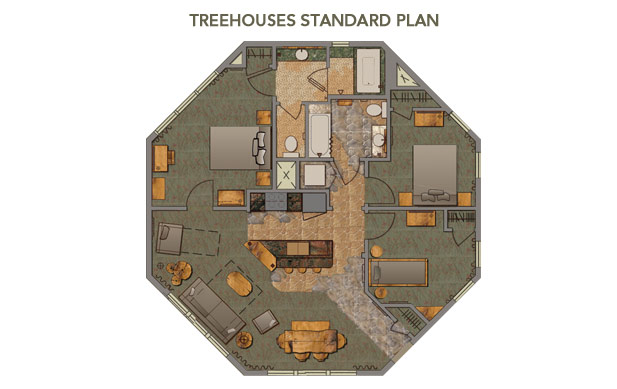 Treehouse layouts the dis disney discussion forums for Tree house floor plans