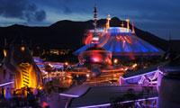 An attraction at Hong Kong Disneyland