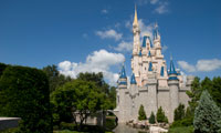 View of Cinderella's Castle