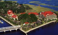 Bird's-eye view of Disney's Hilton Head Island Resort, a Disney Vacation Club Resort