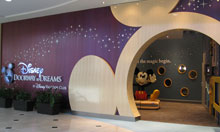 "The entry way to ""Disney Doorway to Dreams"" in New York"