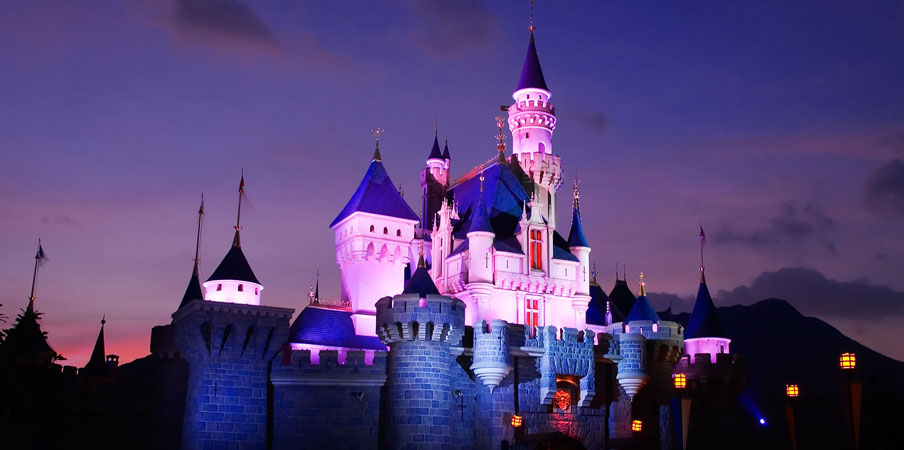 Cinderella Castle at Hong Kong Disneyland